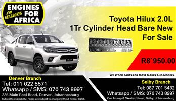 Toyota Hilux 2.0L 1Tr Cylinder Head Bare New For Sale