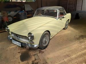 MG MIDGET ONE OF THE BEST IN SOUTH AFRICA