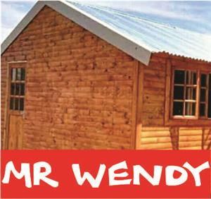 Mr Wendy building affordable wendy houses