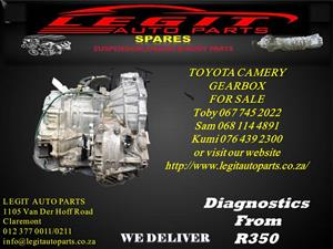 TOYOTA CAMERY GEARBOX FOR SALE