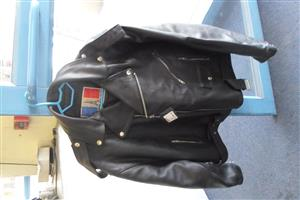 3XL Leon Leather Motorcycle Jacket
