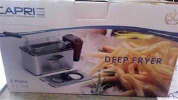 Caprie deep fryer