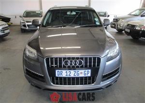 2012 Audi Q7 3.0 TDI V6 QUATTRO TIP