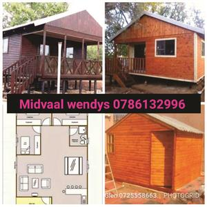 Midvaal Wendy - Pallet Wood / Louvre wood