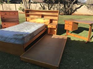 Pine bedroom set for sale