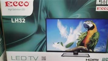 "ECCO 32"" Full HD TV(led-32FHDB) -+ remote(NEW)"