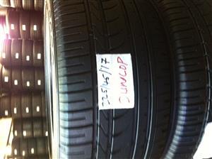 Dunlop set of 4 tires for sale