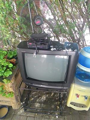 Tv and antenna