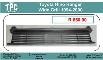 Toyota Hino Ranger Wide Grill 1994-2000 For Sale.