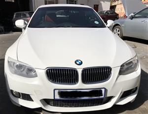 2013 BMW 3 Series 335i convertible Exclusive steptronic