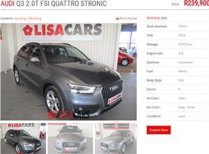 2013 Audi Q3 2.0T quattro auto