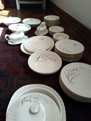 Dinner Service - 62 Piece, used, Royal Wessex