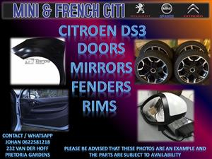 USED PARTS ON  BIG SPECIAL !!NOW!! FOR CITROEN DS3,DS4