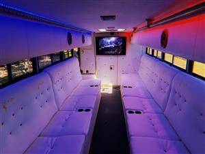 Matric Farewell Limo Party Bus for hire