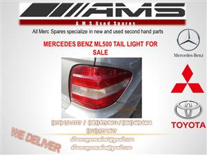 MERCEDES BENZ ML 500 TAIL LIGHT FOR SALE