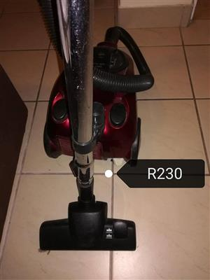 Red vacuum cleaner for sale