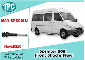 Mercedes Benz Sprinter 308 Front Shocks New For Sale at TPC.