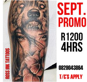 September Tattoo Special
