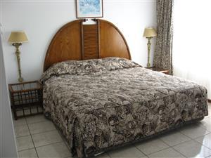 IMMEDIATE OCCUPATION FURNISHED 3 BEDROOM 2 BATHROOM FLAT R6500 pm UVONGO SHELLY BEACH ST MICHAELS