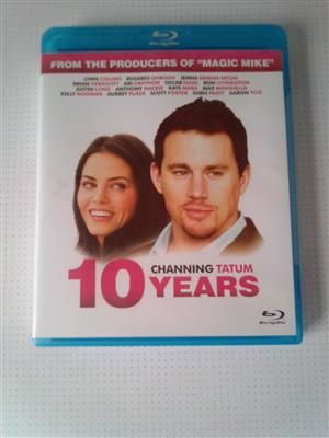 "Blu-ray DVD Movie ""10 Years"". As well as other Movies and Music Blu-ray DVD's R60 each. Please WhatsApp me for List of them. I am in Orange Grove."