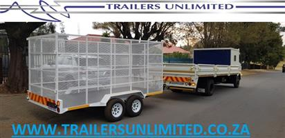 UTILITY TRAILERS. RECYCLING TRAILERS.