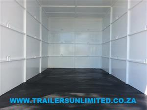 TRAILERS UNLIMITED 4000 X 2000 X 2000 ENCLOSED TRAILER.
