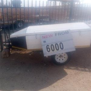 new and used luggage trailer for sale