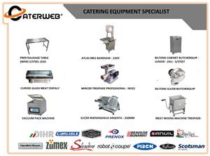 We provide the widest range of catering equipment and commercial refrigeration products