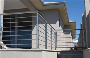 Stainless steel balustrades, staircases