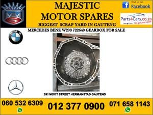 Mercedes benz w203 722640 gearbox for sale