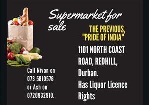 Supermarket for sale