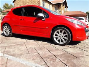 2009 Peugeot 207 1.6 GTi 3 door
