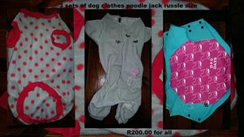 Doggy clothes for sale