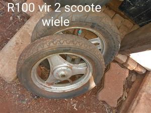 2 Scooter wiele