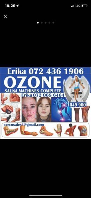 Ozone Therapy Sauna