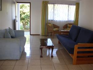 FOUR SLEEPER ONE BEDROOM HOLIDAY FLAT WITH SLIGHT SEA VIEW FROM R1750 PER WEEK SHELLY BEACH, UVONGO, ST MICHAELS-ON-SEA