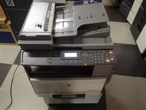 Konica Minolta Bizhub 163 & 211 Printer Machines