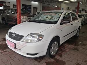 2003 Toyota Corolla 1.6 Advanced