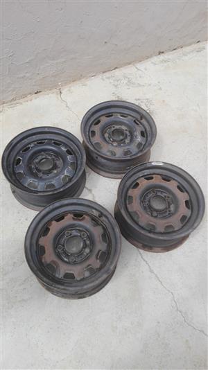 BMW Original Rims - 14 Inch 5 Hole