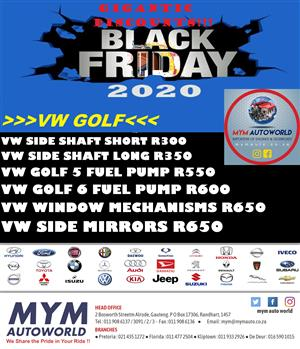 BLACK FRIDAY SPECIALS IN STORE NOW