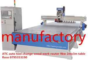 ATC Woodwork Router-8 Auto tool change at backside --made in own factory for sale  Edenvale