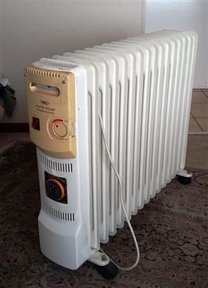 16 fin oil filled electric heater