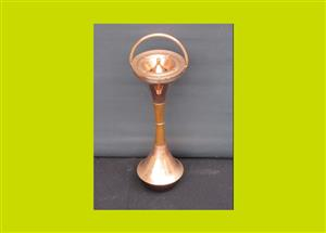 Art Deco Copper Lobby Ashtray - SKU 807