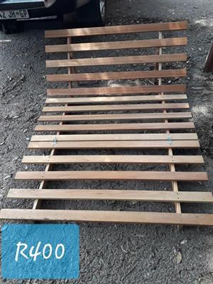 Wooden pool lounger frame for sale