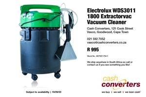 Electrolux WDS3011 1800 Extractorvac Vacuum Cleaner