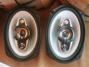 Pioneer 220W 4way 6x9 speakers