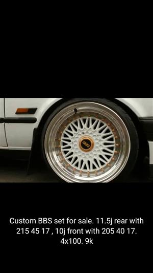 Custom BBS Rims for sale