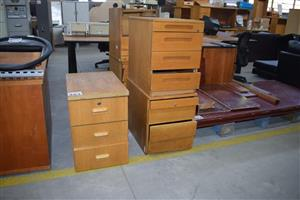 Wooden filing drawers for sale