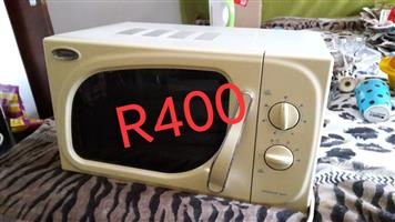 White microwave oven for sale