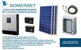 Somerset 3 KVA Load Shedding Solar System